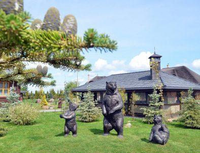 """Загородный эко-клуб """"Три Медведя""""   Отдых на природе"""