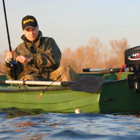 моторная лодка рыбалка